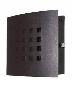 ポスト 郵便受け 壁掛け郵便ポスト ステンレスデザインポスト 鍵付き ティンブクー 壁掛け式 Kyoto ステンレス モダンスタイル