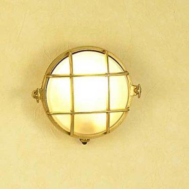 真鍮照明・マリンライトbh2028B思っていた以上に素敵なライトで感激