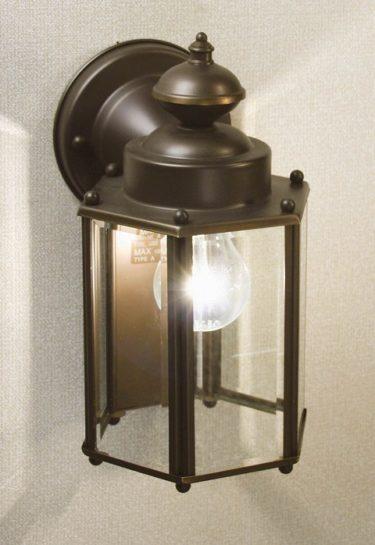 レトロ照明・KICHLER製の屋外照明・ガーデンライト