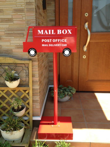 A4サイズの郵便物もラクラク♪