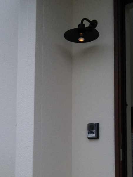 玄関照明 玄関 照明 LED 屋外 門柱灯 門灯 外灯 ポーチライト ポーチ灯 アイアン ガーデン ライト type7 幅290×高さ250×奥行320 100V プラグ コード 手作り ブラケット 照明器具 おしゃれ