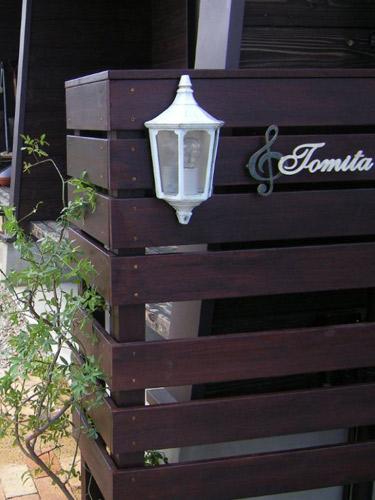 ガーデンライト 門柱灯 ホワイト